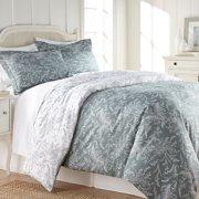 Winter Brush Print Lush & Supreme Quality Reversable Duvet Cover Set