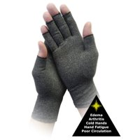 Large Mens & Womens Arthritis / Edema Compression Gloves