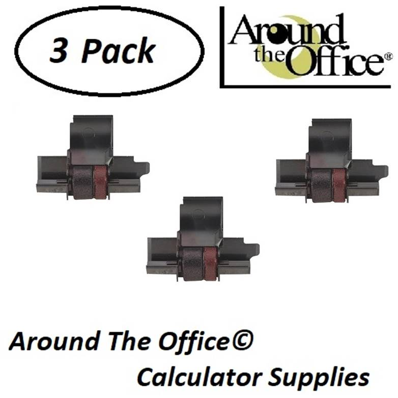 Canon Model P23-DHV Compatible CAlculator CP-13 Black & Red Ink Roll by Around The Office