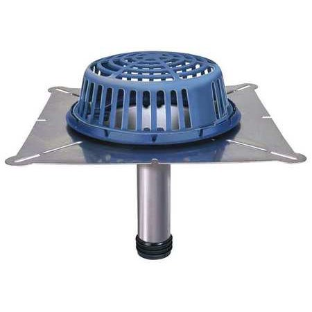 Zurn rd2150 light commercial 1250 diameter dome stainless steel zurn rd2150 light commercial 1250 diameter dome stainless steel roof drain rd2150 ss4 aloadofball