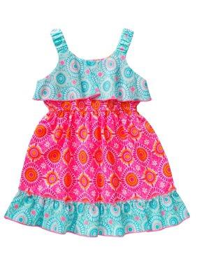 534c9e854d70 Product Image Youngland Little Girls Boho Ruffle Sundress 2T