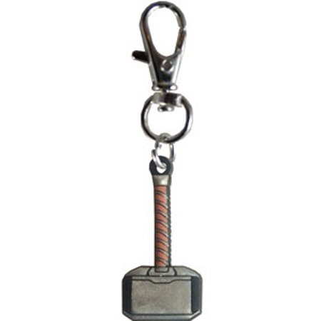 Key Chain - Marvel - Thor Hammer Zipper Pulls New Toys Licensed