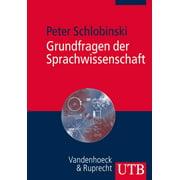 Grundfragen der Sprachwissenschaft - eBook