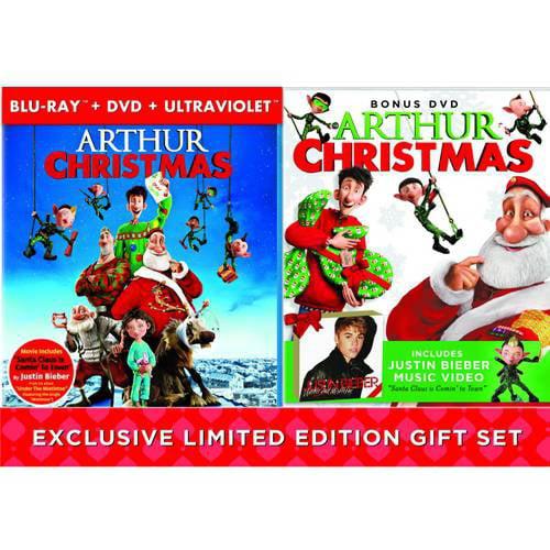 Arthur Christmas (Blu-ray + DVD + Bonus DVD)