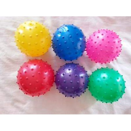 LWS LA Wholesale Store  200 Knobby Bouncy Balls 5 inch Spike Massage Party Favors Toy pinata stuffe