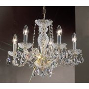 Monticello Chandelier Light in Gold Finish (5)