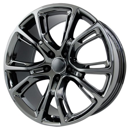 Wheel Replicas V1171 PVD Dark Chrome Finish Wheel with PVD Dark Chrome Finish