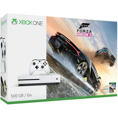 Xbox One S 500Gb Forza Horizon 3 Bundle  Xbox One