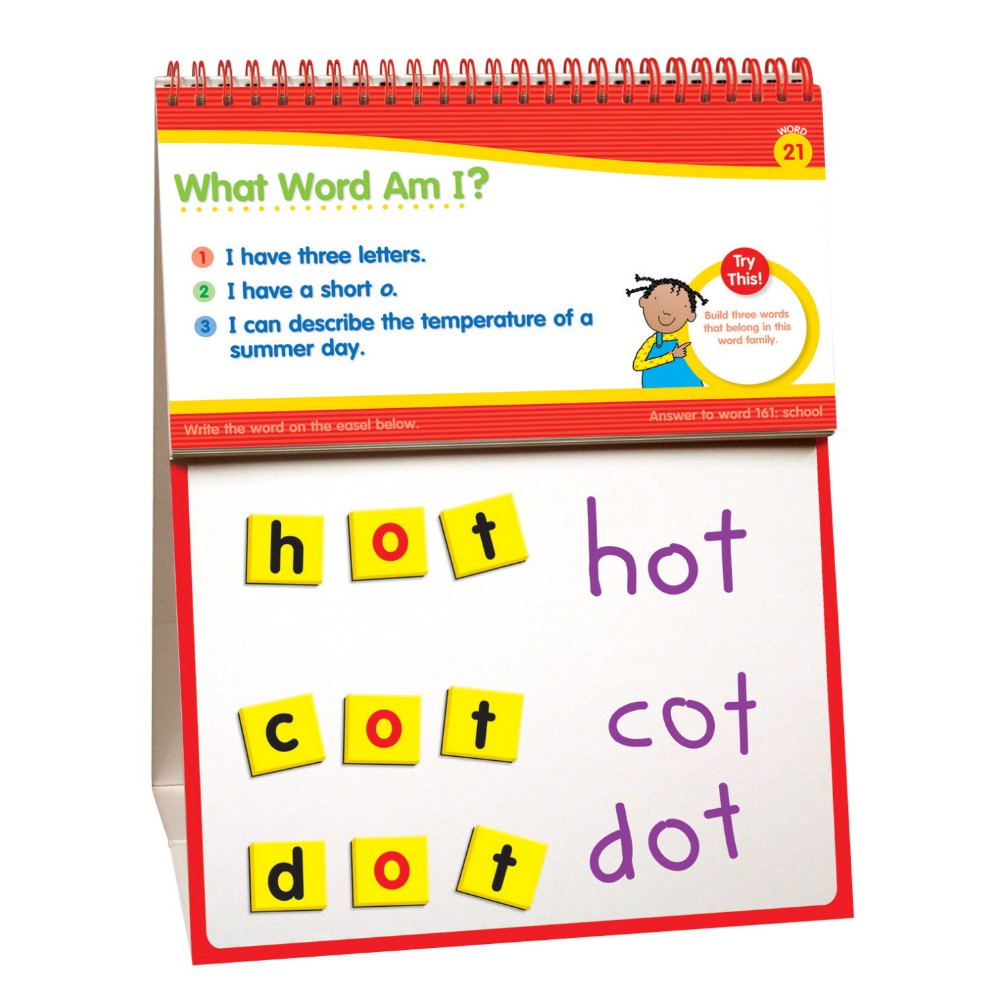 Scholastic 091270 Little Red Toolbox Magnetic Daily Word ...
