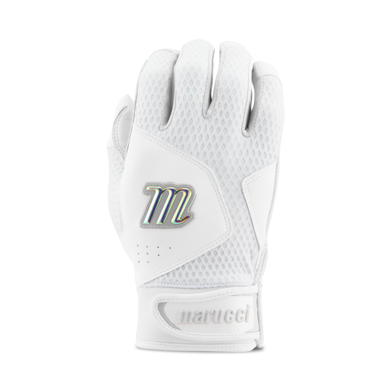 Marucci Adult Quest 2.0 Batting Gloves - White