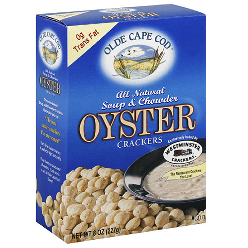 Olde Cape Cod Soup & Chowder Oyster Crackers, 8 oz  (Pack of 12)