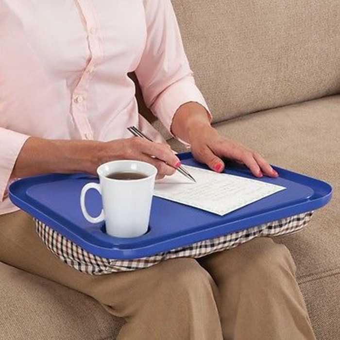 Voberry Lap Desk For Laptop Chair Student Studying Homework Writing Portable Dinner Tray