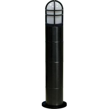 Metal Bollard Light (Dabmar Lighting D113-B-MT 70W Fiberglass Bollard with Metal Halide Lamp, Black - 42 x 10.25 x 10.25 in. )