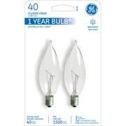 GE 40W 120-Volt (2500K) Incandescent Light Bulb