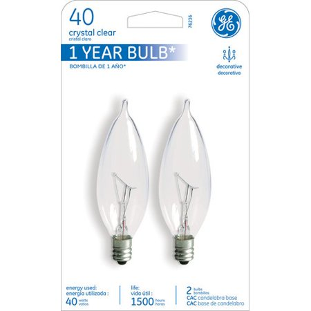 GE 40W 120-Volt (2500K) Incandescent Light Bulb