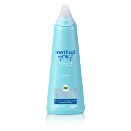 Method, MTH01221, Antibacterial Toilet Cleaner, 1 Each, Blue 24 Ounce Aluminum Scoop