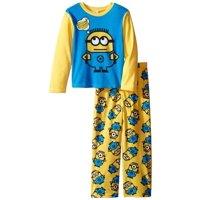 Little Boys' Fleece Pajama Set 4-10, The 'A' Team, Size: 6