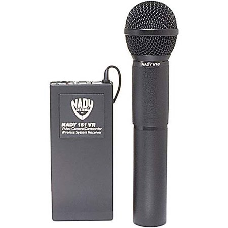 Nady 151VRHT Professional Wireless Handheld Microphone Systems For Camcorders Nady Professional Wireless Handheld Microphone