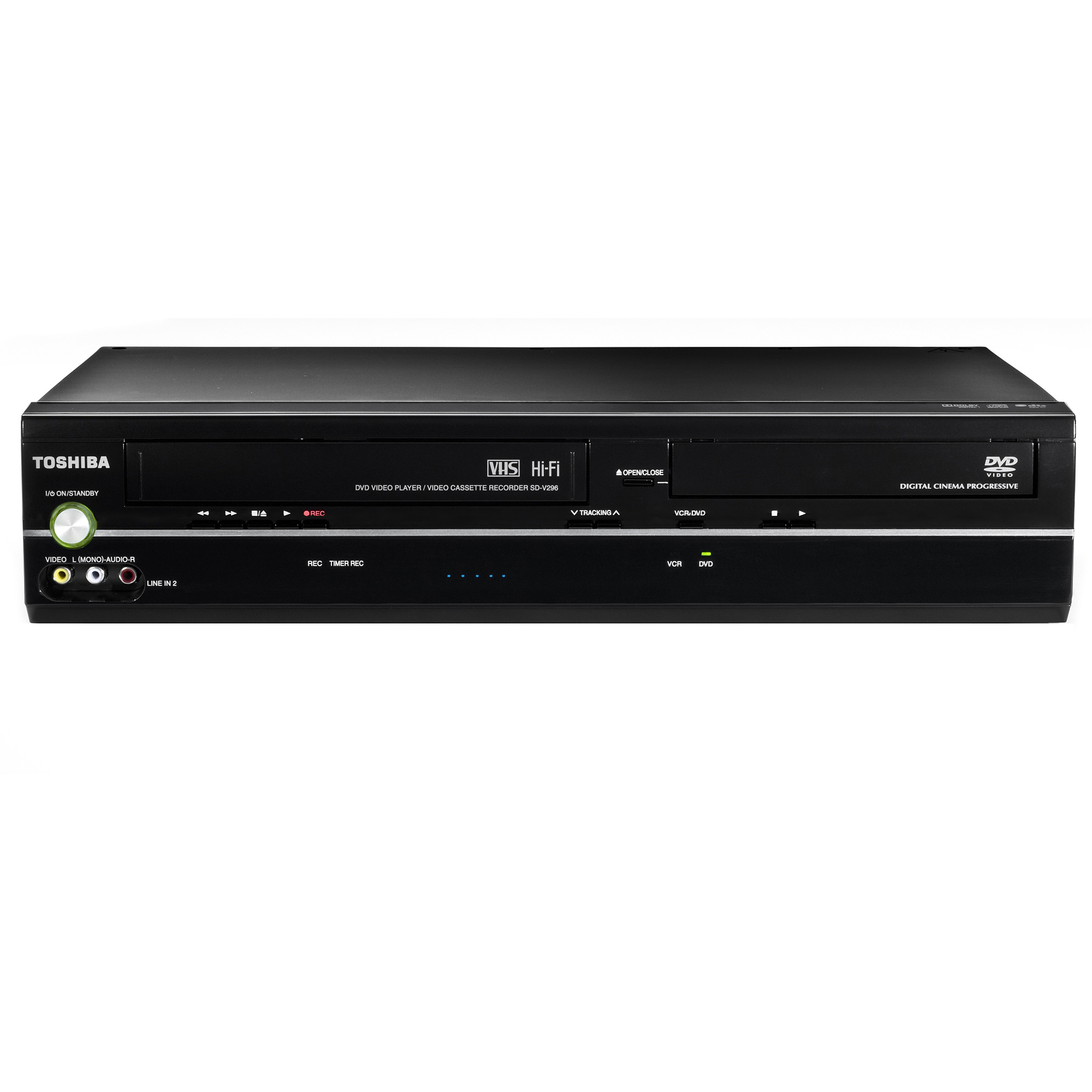Toshiba SD-V296 Tunerless DVD VCR Combo Player, DVD player, VCR