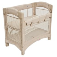 Arm's Reach Mini Ezee 2-in-1 Co-Sleeper Bassinet, Toffee