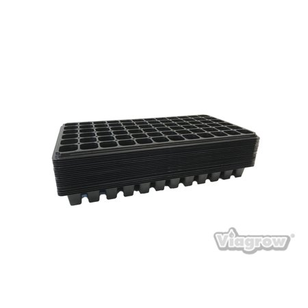 Grow Tray (72 Cell Seedling Grow Plugs Starter Trays (10-Pack))