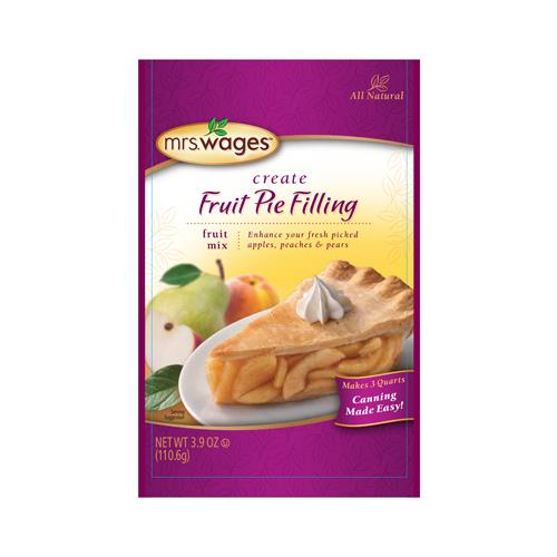Kent Precision Foods Group W801-J4425 Pie Filling Mix, Apple Fruit Pie, 3.9-oz.