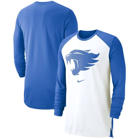Kentucky Wildcats Nike On-Court Basketball Elite Performance Long Sleeve T-Shirt - White
