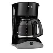 Mr. Coffee 12-Cup Coffeemaker, Black, SK13