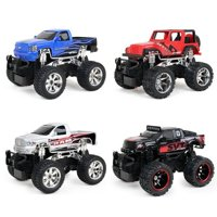 New Bright RC 1:24 Scale Radio Control Assorted Trucks - Ford Raptor, Jeep Wrangler, Chevy Silverado