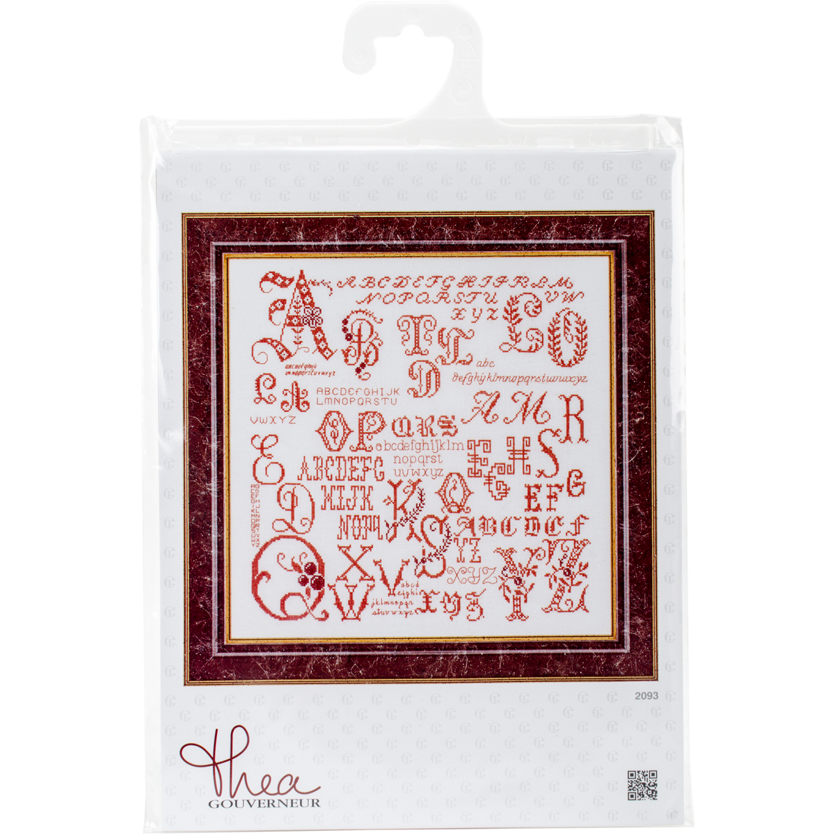 Antique Character Sampler On Aida Counted Cross Stitch Kit-13.25X13.25 18 Count