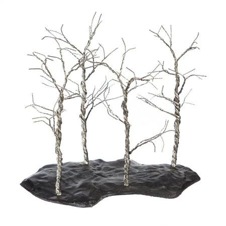 Silver Tree Table Deco