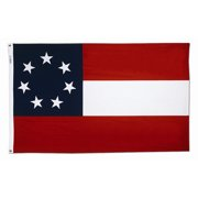 Annin Flagmakers Stars and Bars Traditional Flag