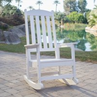 Belham Living Seacrest Cottage Rocking Chair - White