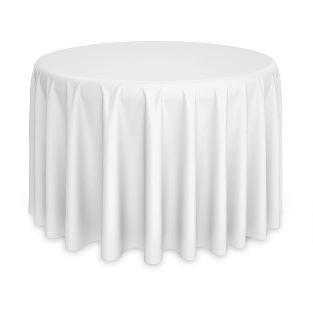 Polyester Fabric Table Cloths, Round Table Cloths