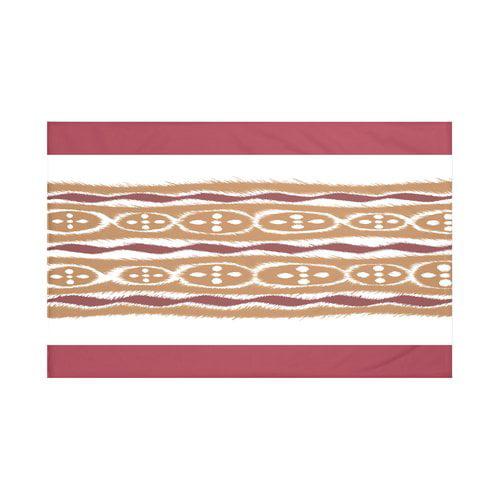 Bungalow Rose Fierro Stripes Print Fleece Throw
