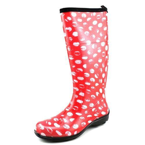Kamik Stephanie Women US 6 Red Rain Boot