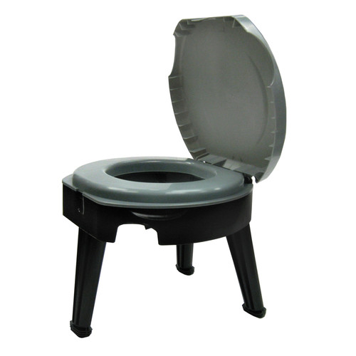 Reliance Fold-To-Go Collapsible Portable Round One-Piece Toilet by Reliance
