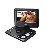 "Sylvania SDVD7073 7"" Swivel Screen Portable DVD Player - Manufacturer Refurbished"