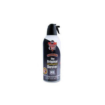 disposable compressed gas duster 12 oz can. Black Bedroom Furniture Sets. Home Design Ideas