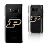 Purdue Boilermakers Insignia Clear Case for Galaxy S8