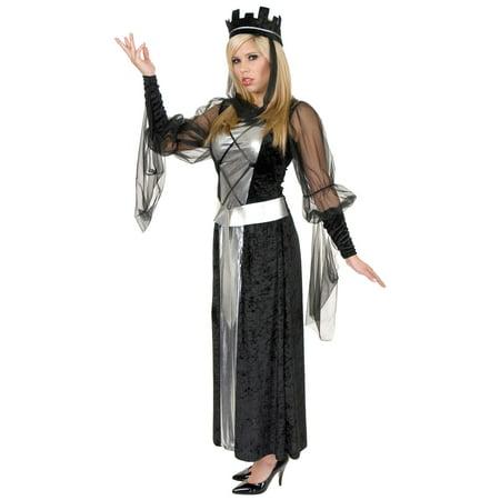 Adult Black Queen Costume