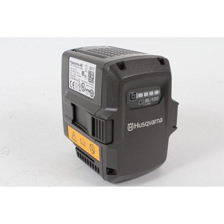 - Genuine Husqvarna 967091801 BLi100 36V 2.6 Ah Lithium Ion Pro Battery