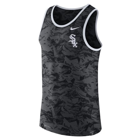Chicago White Sox Nike Premium Performance Tank Top - Anthracite