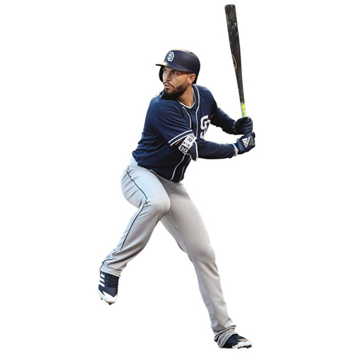 Eric Hosmer San Diego Padres Fathead Life Size Removable Wall Decal - No Size