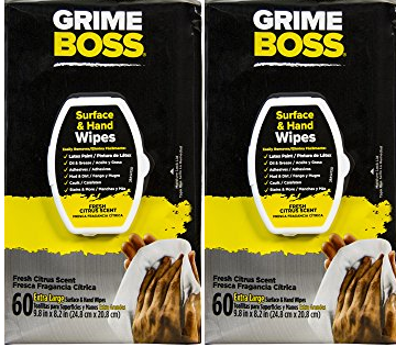 Grime boss wipes walmart