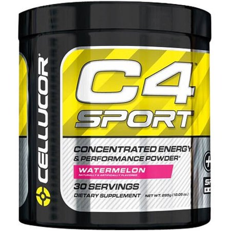 Cellucor C4 Sport Concentrated Energy & Performance Powder, Watermelon, 30 Ct