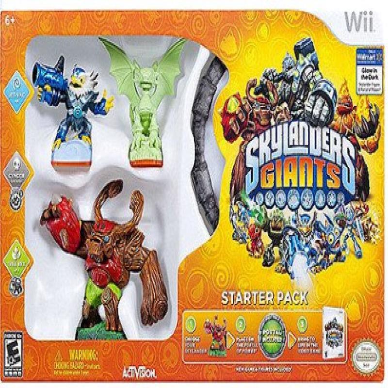 Skylanders Giants: (Glow In The Dark) Starter Kit (Walmart Exclusive) (Wii) 047875845633