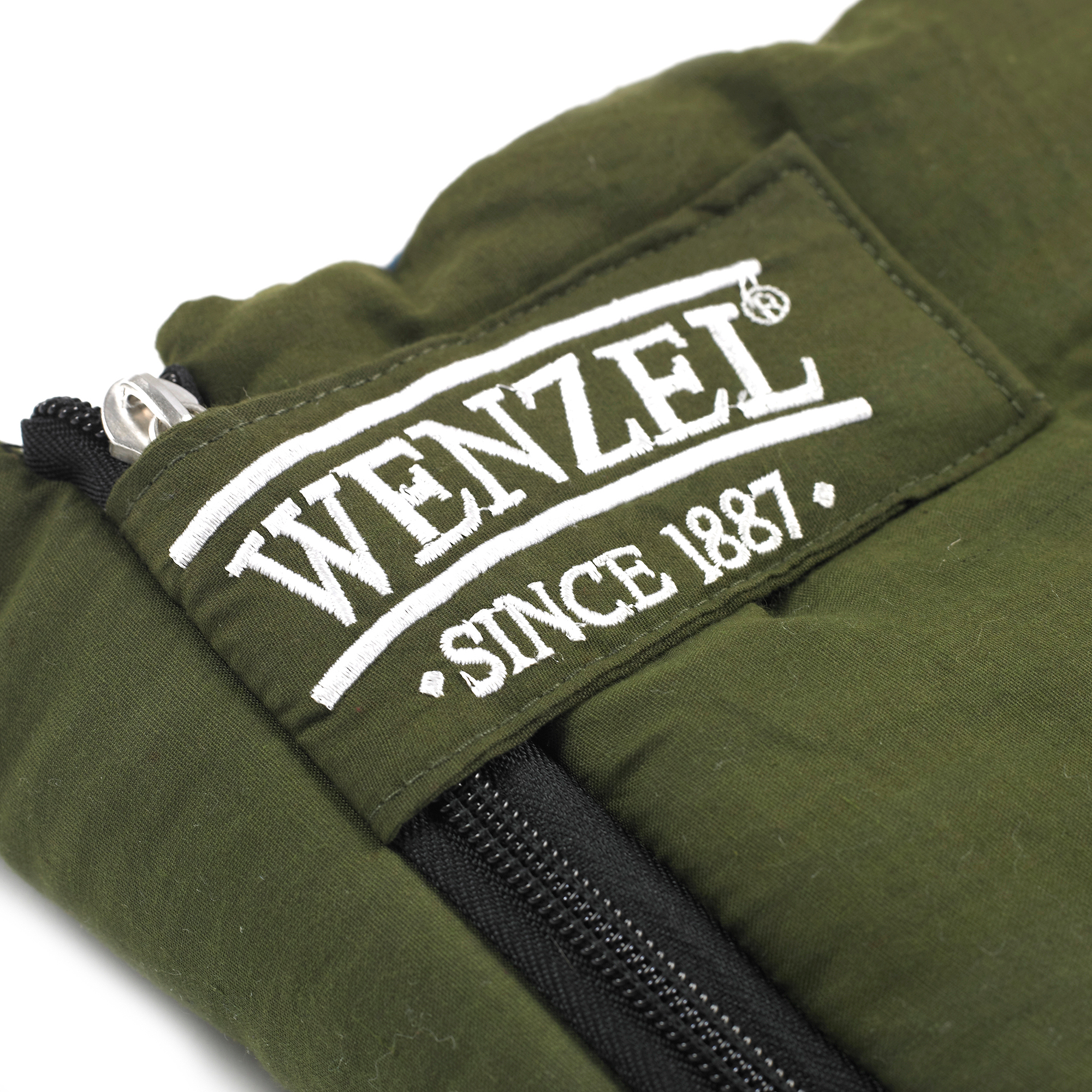 Wenzel Conquest 25-Degree Sleeping Bag, Green by Wenzel
