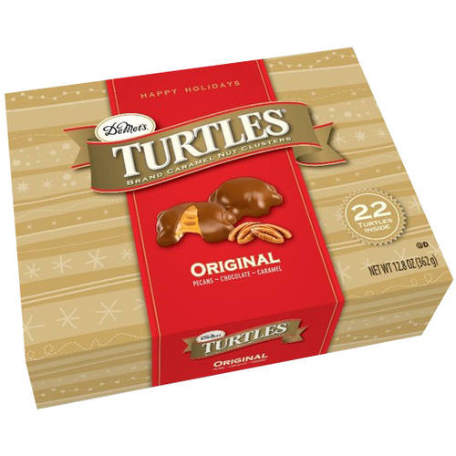 Turtles Brand Original Caramel Nut Clusters Holiday Gift, 12.8 oz