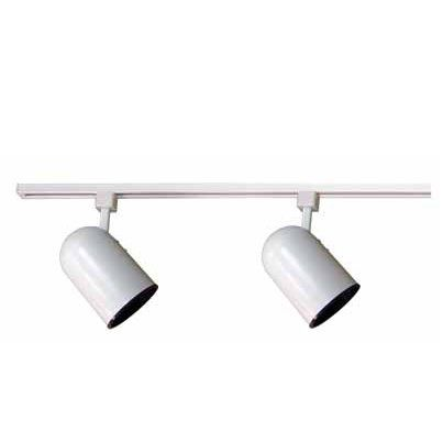 Volume International V2733-6 2 Light Two Foot Track Lighting Kit, White by Volume International
